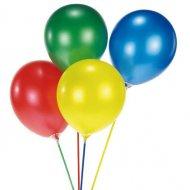 15 Tiges pour ballons en couleurs