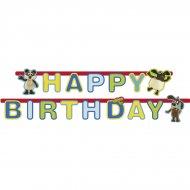 Guirlande lettres Happy Birthday Timmy le Mouton