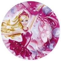 Contient : 1 x 8 Assiettes Barbie Ballerine