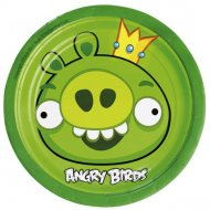 8 Petites Assiettes Angry Birds