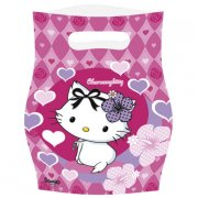 6 Pochettes Cadeaux Charmmy Kitty Coeur