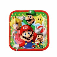 8 Petites Assiettes Mario Party