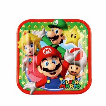 8 Petites Assiettes Mario Party