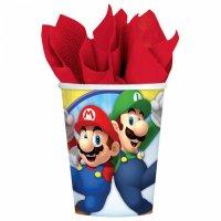 Contient : 1 x 8 Gobelets Mario Party