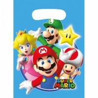 Contient : 1 x 8 Pochettes Cadeaux Mario Party