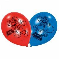 Contient : 1 x 6 Ballons Mario Party