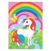 8 Pochettes Cadeaux Licorne Rainbow