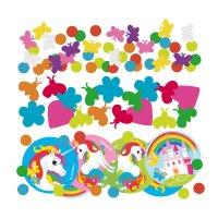 Contient : 1 x Confettis Licorne Rainbow (34 g)