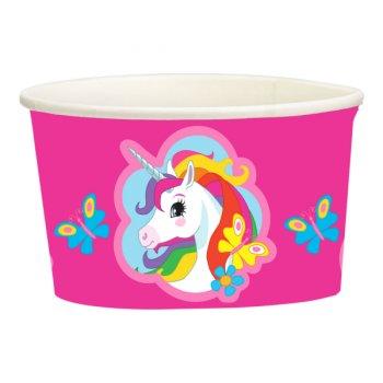 8 Pots à Bonbons Licorne Rainbow