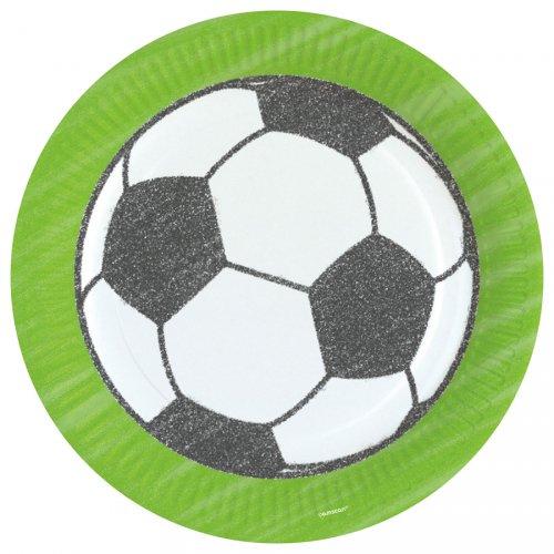 8 Assiettes Football Match
