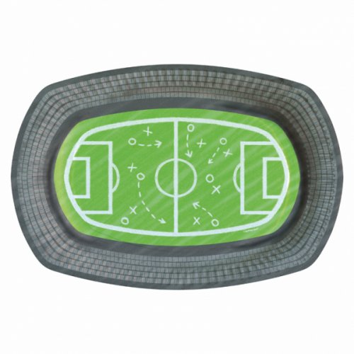 6 Petites Assiettes Football Match