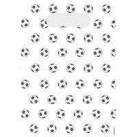 Contient : 1 x 8 Pochettes Cadeaux Football Match