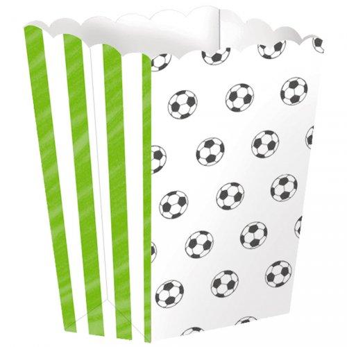 4 Boîtes à Popcorn Football Match