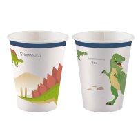 Contient : 1 x 8 Gobelets Happy Dino