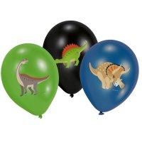 Contient : 1 x 6 Ballons Happy Dino