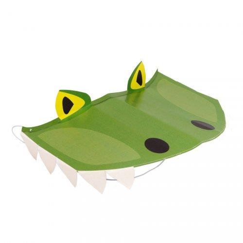 8 Visières Happy Dino (chapeaux)