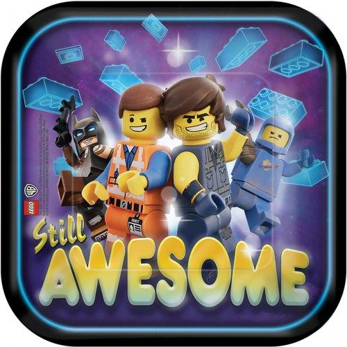 8 Petites Assiettes La Grande Aventure Lego 2