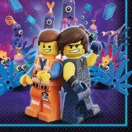 16 Serviettes La Grande Aventure Lego 2