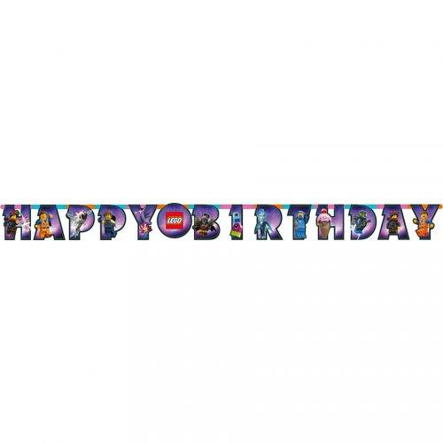 Guirlande Happy Birthday La Grande Aventure Lego 2