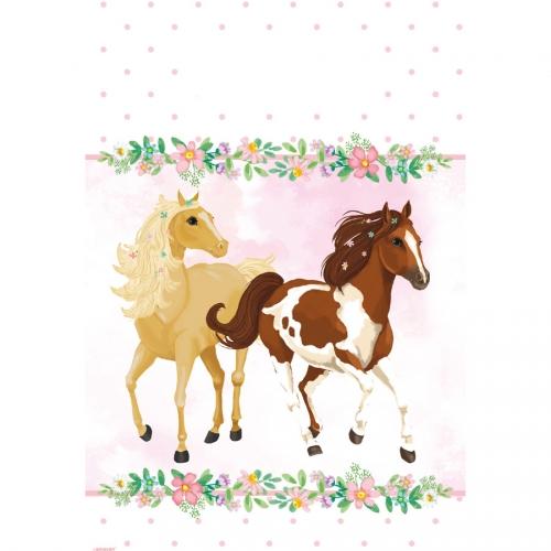 8 Pochettes Cadeaux Cheval