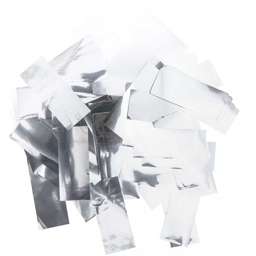 Confettis Paillettes Maxi - Argent