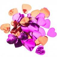 Confettis Coeurs Maxi - Rouge et Rose