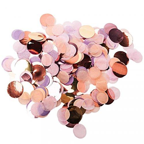Canon Popper à Confettis - Mix Pastel Rose