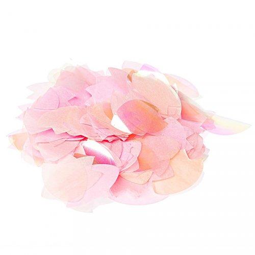 Confettis Mix - Fleurs de Cerisier (Rose/Saumon/Irisé)