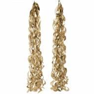 2 Suspensions Spirales - Soie Gold