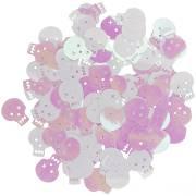 Confettis Tête de Mort - Iridescent