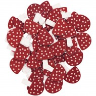 Confettis Champignons- Bois