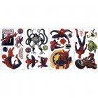 22 Stickers Muraux Spiderman