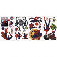 22 Stickers Muraux Spiderman