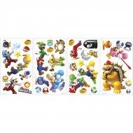 35 Stickers Muraux Super Mario Wii