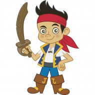Sticker Mural G�ant Jake le Pirate