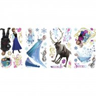 36 Stickers Muraux Reine Des Neiges