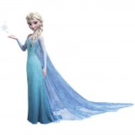 Sticker Mural G�ant Elsa Reine Des Neiges