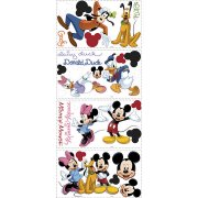 30 Stickers Muraux Mickey