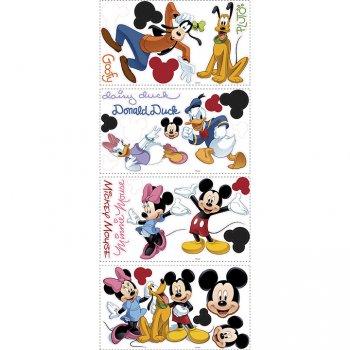 30 Stickers Muraux Mickey