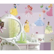 37 Stickers Muraux Princesses Disney