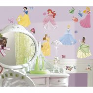37 Stickers Muraux Princesses Disney