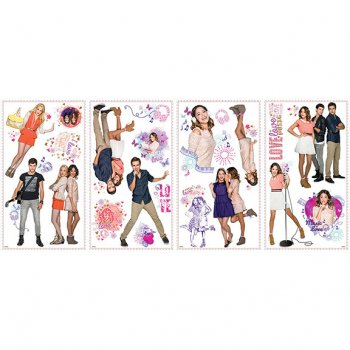 21 Stickers Muraux Violetta