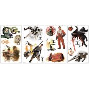 15 Stickers Muraux Star Wars VII