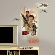 Sticker Mural G�ant Star Wars VII - Rebelles