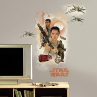 Sticker Mural Géant Star Wars VII - Rebelles