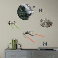 21 Stickers Muraux Star Wars Etoile Noire