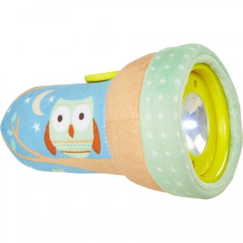 Lampe Peluche Go Glow Hibou Doux