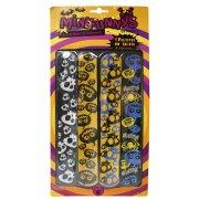 4 Bracelets Slap Halloween