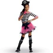 D�guisement Miss Pirate Gothique (enfant)