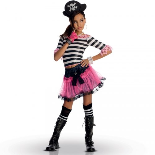 Déguisement Miss Pirate Gothique (enfant)
